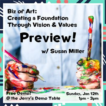 Jan 12 - Biz of Art: Your Why? Preview w/ Susan Miller