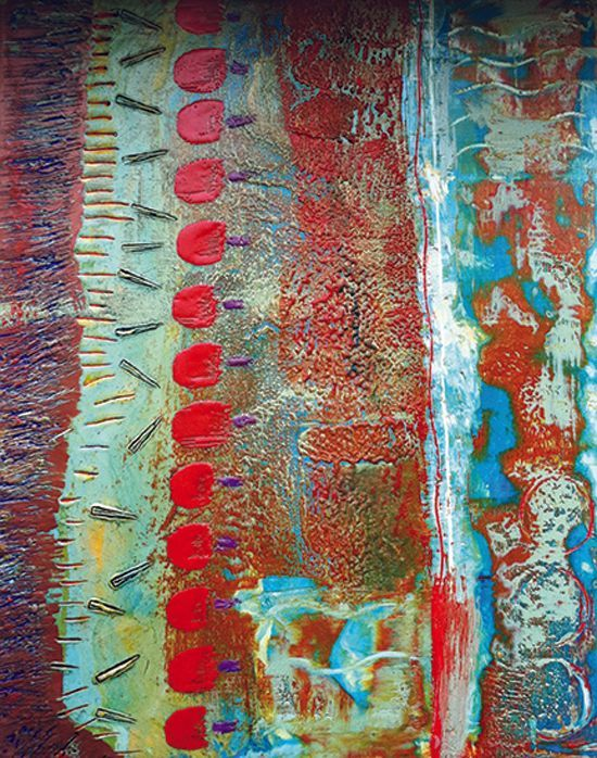 Jan 13 - Encaustic Techniques with Sharon DiGiulio