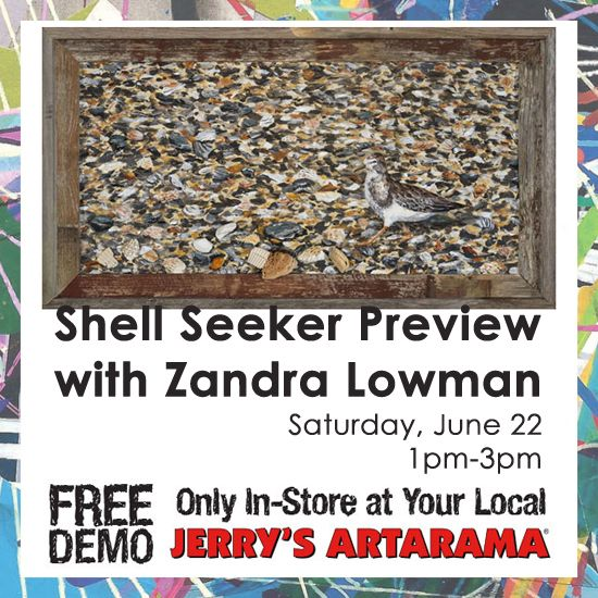 June 22 - Shell Seeker Preview with Zandra Lowman