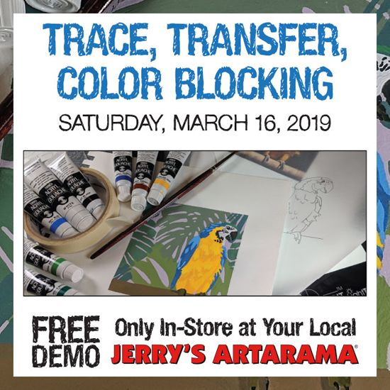 March 16 - Trace, Transfer, and Color! With Gaella Materne