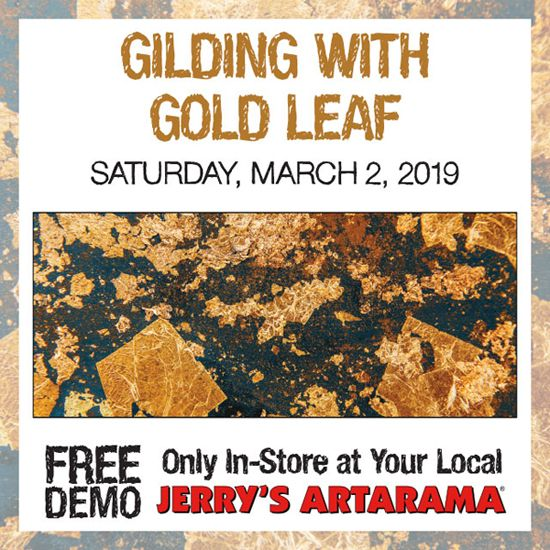 March 2 - A Guide to Gold Leaf with Carbo