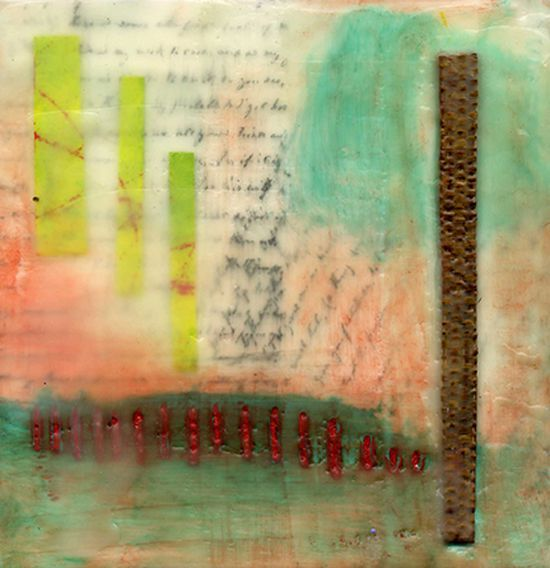 March 23-24 - 2 Day Mixed Media Encaustic Techniques Sharon DiGiulio