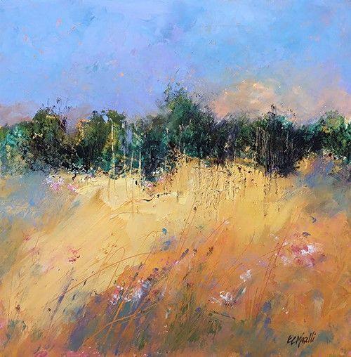 May 18 - Expressive Color with Oil and Cold Wax with Kim Maselli