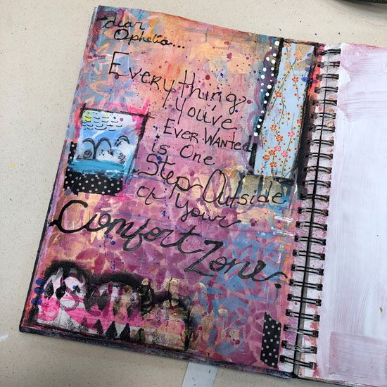 Nov 3 - Mixed Media Mayhem: The Fun of Art Journaling