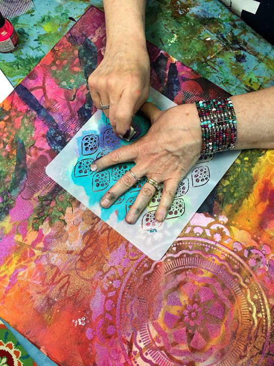Nov 2 - Fall Mixed Media Magic: Exploring Nature with Intuitive Painting & Collage