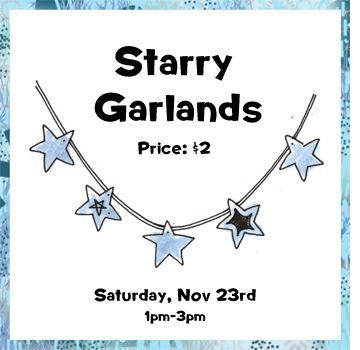 Nov 23 - Starry Garlands