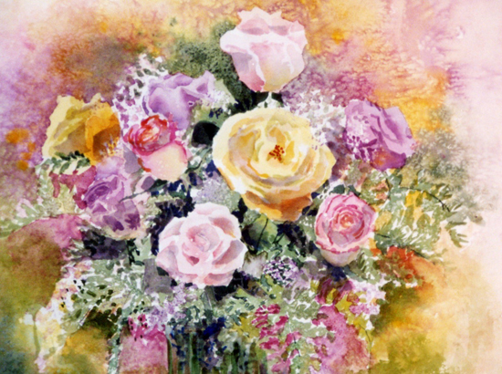 (Canceled) Oct 14 - Vivid Florals with Suzanne Hetzel