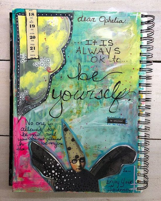 Oct 6 - Breaking Free: An Intro to Art Journaling with Ophelia Staton CANCELLED