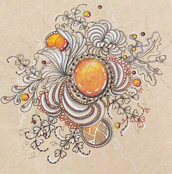 Saturday. July 7th - Untangle the Mysteries of Zentangle with Cathy Boytos