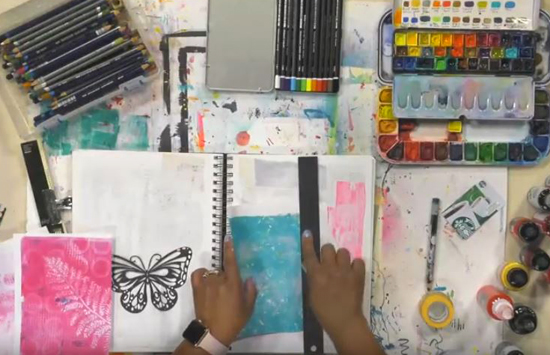 (Canceled) Sep 30 - Paint and Play: Creating Your Own Ephemera with Ophelia Staton