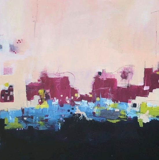 Sept 15 - Intuitive Painting: An Introduction to Abstracts with Ophelia Staton