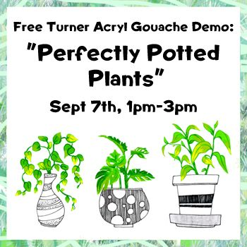 Sept 7 - Perfectly Potted Plants