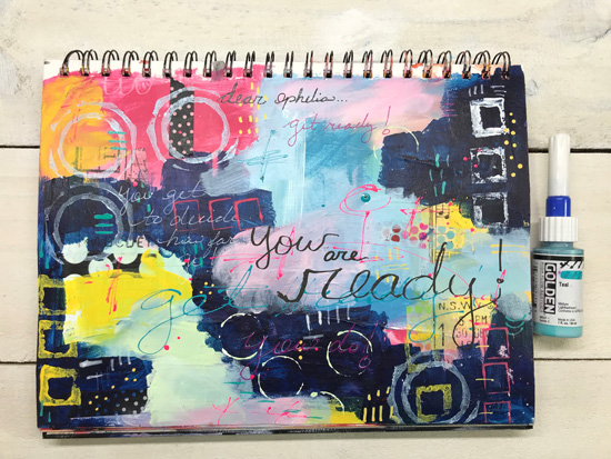 Sunday, Dec. 16th - Art Journaling: Reflections on 2018 with Ophelia Staton