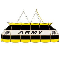"40"" Army Stained Glass Light Fixture"