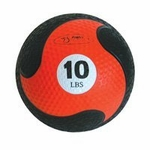 "FitBall Weighted Medicine Ball (Orange 10lbs. 9"")"