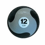 "FitBall Weighted Medicine Ball (Grey 12lbs 9"")"