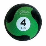 "FitBall Weighted Medicine Ball (Green 4 lbs 7.75"")"