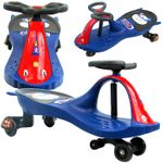 Riding Toy, Wiggle Blue Car