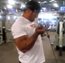 Ethan Pendry Chest & Biceps - October 2014