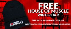 FREE Winter Hat From House Of Muscle