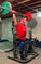 House Of Muscle - Joel Sward - Seated Military Overhead Barbell Press