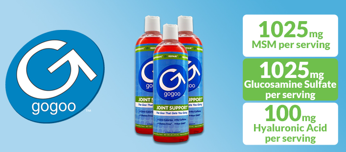 Reduce Joint Soreness, Stiffness & Pain With gogoo