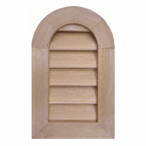 """10"""" x 18"""" Tombstone or<br>Elliptical Gable Vent"""