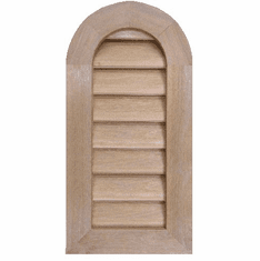 """10"""" x 24"""" Tombstone or<br>Elliptical Gable Vent"""