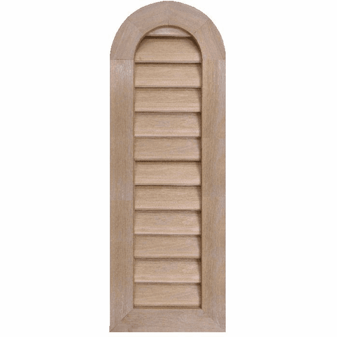 "10"" x 36"" Tombstone or<br>Elliptical Gable Vent"