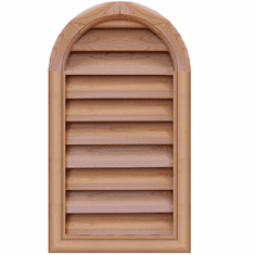"""16"""" x 30"""" Tombstone or<br>Elliptical Gable Vent"""
