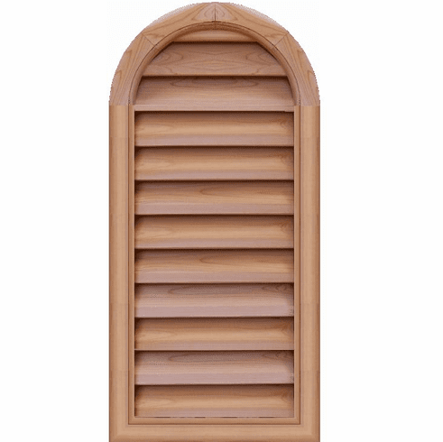 "16"" x 36"" Tombstone or<br>Elliptical Gable Vent"