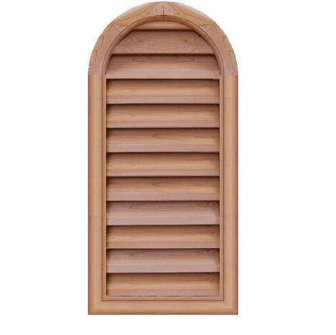"""16"""" x 42"""" Tombstone or<br>Elliptical Gable Vent"""