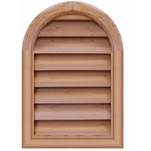 """18"""" x 24"""" Tombstone or<br>Elliptical Gable Vent"""