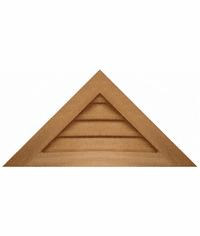"""24"""" base 12/12 pitch<br>Triangle Gable Vent"""