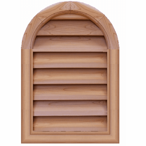 "24"" x 30"" Tombstone or<br>Elliptical Gable Vent"