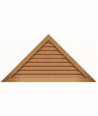 """60"""" base 12/12 pitch<br>Triangle Gable Vent"""