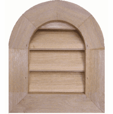 8'' x 12'' Tombstone or<br>Elliptical Gable Vent
