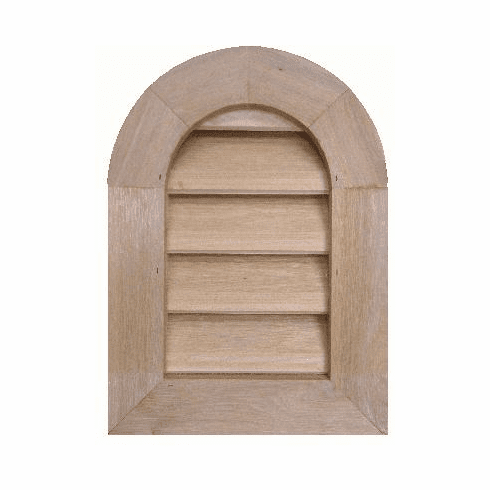 "8"" x 16"" Tombstone or<br>Elliptical Gable Vent"