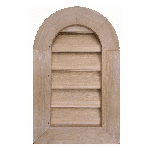 "8"" x 18"" Tombstone or<br>Elliptical Gable Vent"