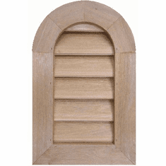 """8"""" x 18"""" Tombstone or<br>Elliptical Gable Vent"""