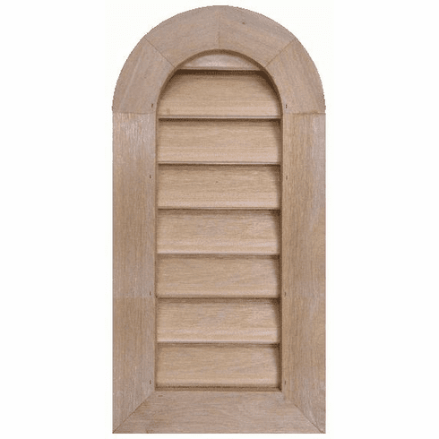 "8"" x 24"" Tombstone or<br>Elliptical Gable Vent"