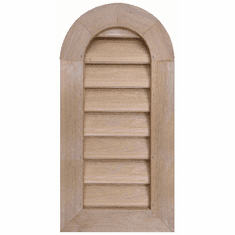 """8"""" x 24"""" Tombstone or<br>Elliptical Gable Vent"""