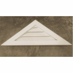 "PVC 30"" base 10/12 Triangle Gable Vent"