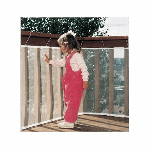 10' Safety 1st Railnet Weather Resistant Balcony & Deck Railing Guard Child Safety Netting