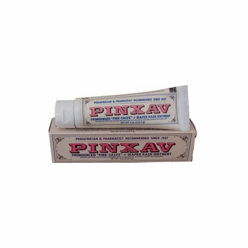 4 oz Tube of Pinxav All Natural, Soothing Diaper Rash Ointment