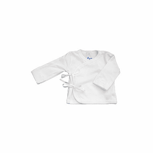 Baby Jay 100% Cotton Long Sleeve Wrap Tee Shirt