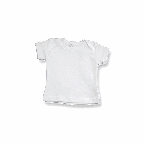 Baby Jay 100% Cotton Short Sleeve T-Shirt with Lap Style Envelope Neck