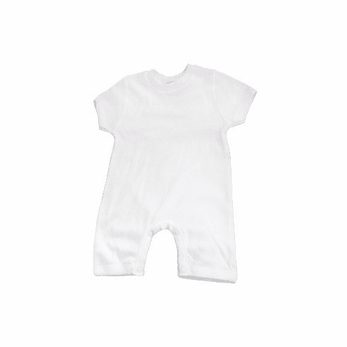 Baby Jay 100% Cotton Shortsleeve Baby & Toddler Romper with Snap Crotch