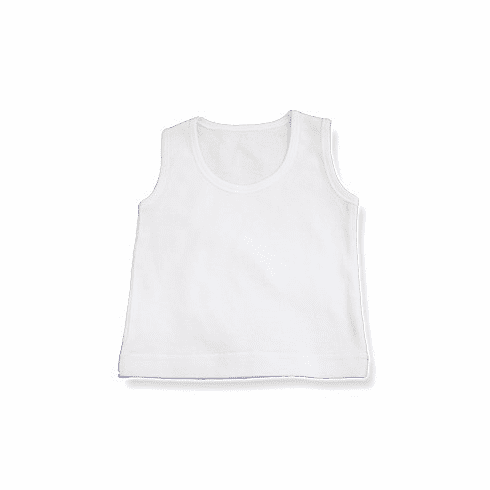 Baby Jay 100% Cotton Sleeveless Shirt Tank Top