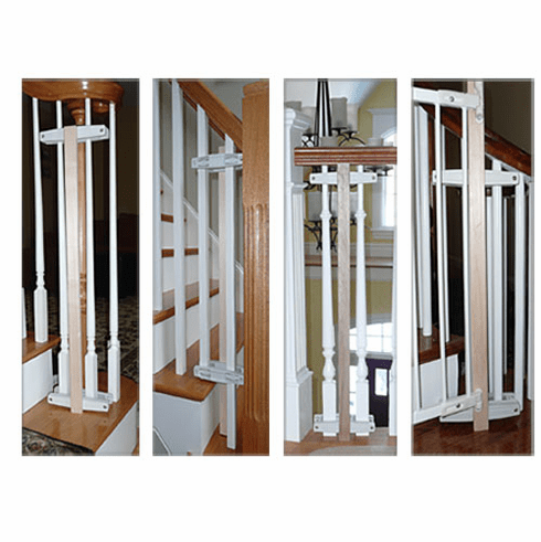 Baluster Baby Safety Gate Mounting Kit